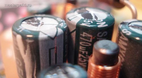 hekte elektrolytisk kondensator